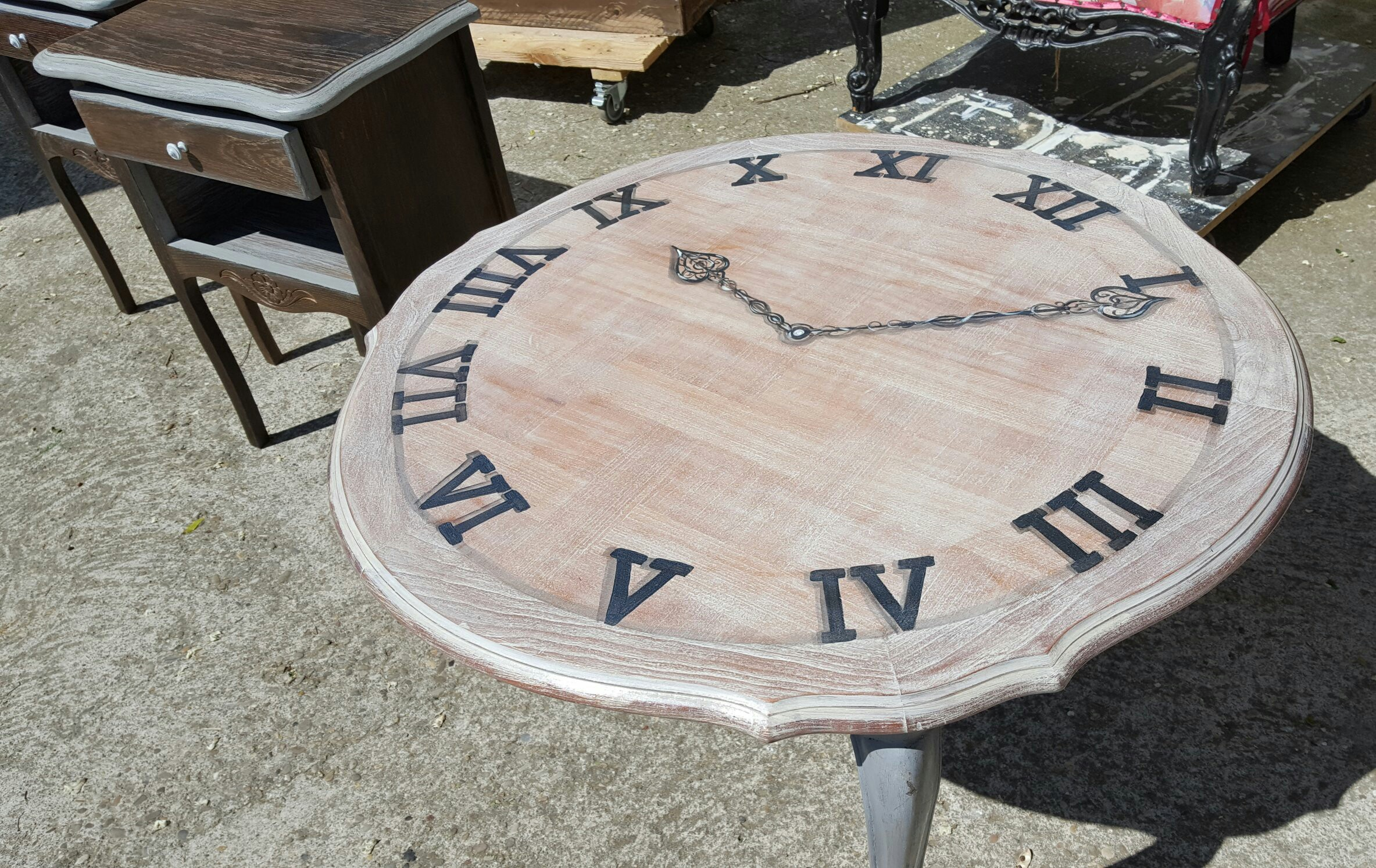 Table Basse Horloge 195 Flo D Eco